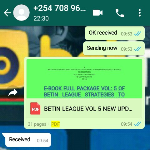2018 BETIN LEAGUE TRICKS, STRATEGIES, SECRETS AND ANY OTHER